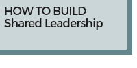 How to Build Shared Leadership
